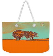 Distant Trees Under Milkyway Horizon By Adam Asar Weekender Tote Bag