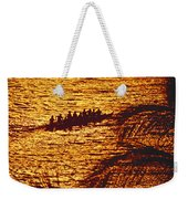 Distant View Of Outrigger Weekender Tote Bag