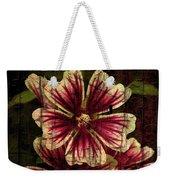 Distinctive Blossoms Weekender Tote Bag