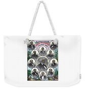 Distinguished Colored Men Weekender Tote Bag