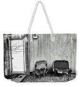 Distressed Building B Weekender Tote Bag