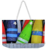 Distressed Buoy Weekender Tote Bag
