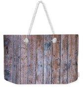 Distressed Door Weekender Tote Bag