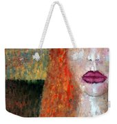 Distrust  Weekender Tote Bag