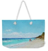 Ditch Plains Beach Montauk Hamptons Ny Weekender Tote Bag