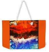 Diverging Weekender Tote Bag