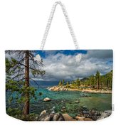 Divers Cove At Lake Tahoe Weekender Tote Bag