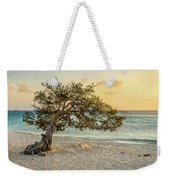 Divi Tree Sunset Weekender Tote Bag