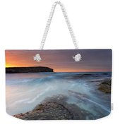 Divided Tides Weekender Tote Bag
