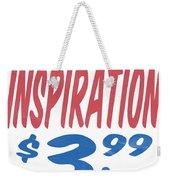 Divine Inspiration Supermarket Series Weekender Tote Bag