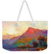 Buddha Meditation, Divine Light Weekender Tote Bag