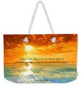 Divine Light - Ss1200b Weekender Tote Bag