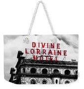 Divine Lorraine Hotel Marquee Weekender Tote Bag