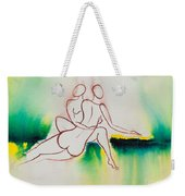 Divine Love Series No. 2090 Weekender Tote Bag