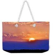 Divine Sunset On The Indian River Bay Weekender Tote Bag