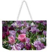 Divine Tulip Display Weekender Tote Bag