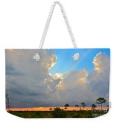 Divinely Inspired Sunset Weekender Tote Bag