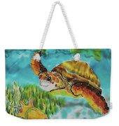 Diving Conch Weekender Tote Bag