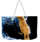 Diving Dog Underwater Weekender Tote Bag
