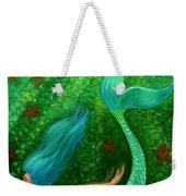 Diving Mermaid Fantasy Art Weekender Tote Bag