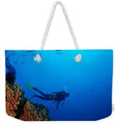 Diving Scene Weekender Tote Bag