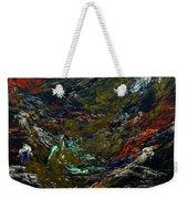 Diving The Reef Series - Sea Floor Abstract Weekender Tote Bag