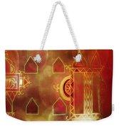 Diwali Card Lamps And Murals Blue City India Rajasthan 2h Weekender Tote Bag