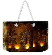 Diwali Lamps And Murals Blue City India Rajasthan 2b Weekender Tote Bag
