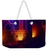 Diwali Lamps And Murals Blue City India Rajasthan Wide 2d Weekender Tote Bag