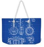 Dixie Banjolele Patent 1954 In Blue Print Weekender Tote Bag