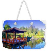 Do-00003 Shinden Style Pavilion Weekender Tote Bag