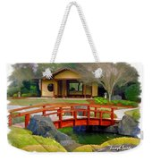 Do-00006 Cypress Bridge And Tea House Weekender Tote Bag