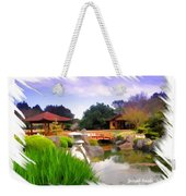 Do-00007 Japanese Gardens Weekender Tote Bag