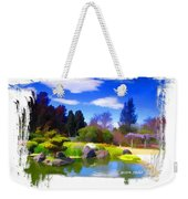 Do-00010 Turtle Island Waterview Weekender Tote Bag