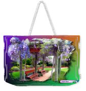 Do-00011 Wisteria Walk Weekender Tote Bag
