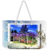 Do-00013 Wisteria Branches Weekender Tote Bag