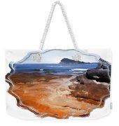 Do-00016 Pearl Beach Weekender Tote Bag