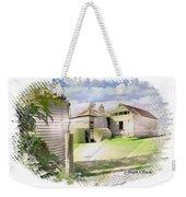 Do-00027 Old Cottage Weekender Tote Bag