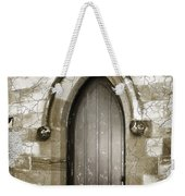Do-00055 Chapels Door In Morpeth Village Weekender Tote Bag