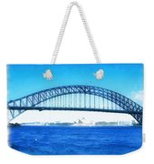 Do-00057 Harbour Bridge Weekender Tote Bag