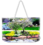 Do-00066 Lake Walk Weekender Tote Bag
