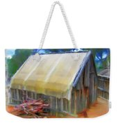 Do-00069 Small Hut Weekender Tote Bag