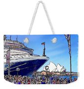 Do-00100 A Ship And Opera House Weekender Tote Bag
