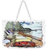 Do-00124 Tender Boats Weekender Tote Bag