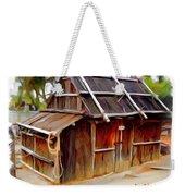 Do-00129 Old Cottage Weekender Tote Bag