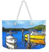 Do-00147 Resting Boats Weekender Tote Bag