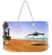 Do-00155 Beach At Royal Mirage Hotel Weekender Tote Bag