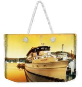Do-00234 Lady Kendall In Sunset Weekender Tote Bag
