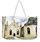 Do-00244 Abandoned Church Weekender Tote Bag