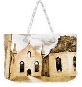 Do-00248 Church At Port Arthur Weekender Tote Bag